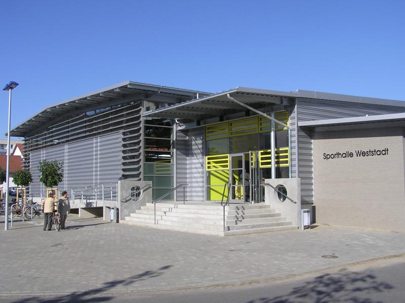 Titelbild von Sporthalle Weststadt
