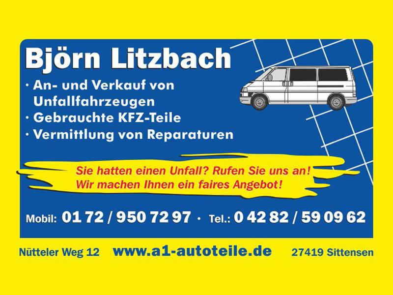 A1 Autoteile Björn Litzbach aus Sittensen. Region Landkreis ...