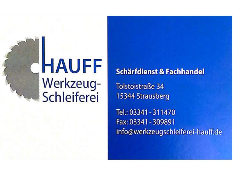 Titelbild von HAUFF Werkzeugschleiferei